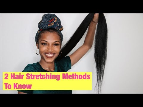 How To Stretch Your Braiding Hair | 2 Simple Methods