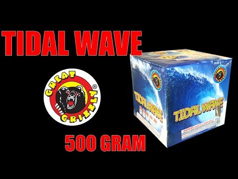 Great Grizzly Fireworks - Tidal Wave 500G