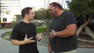 Josh Nasar Hugs a Fat Man Belly