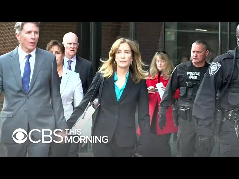 "Felicity Huffman guilty plea in admissions scandal ""bad sign"" for Lori Loughlin, expert says"