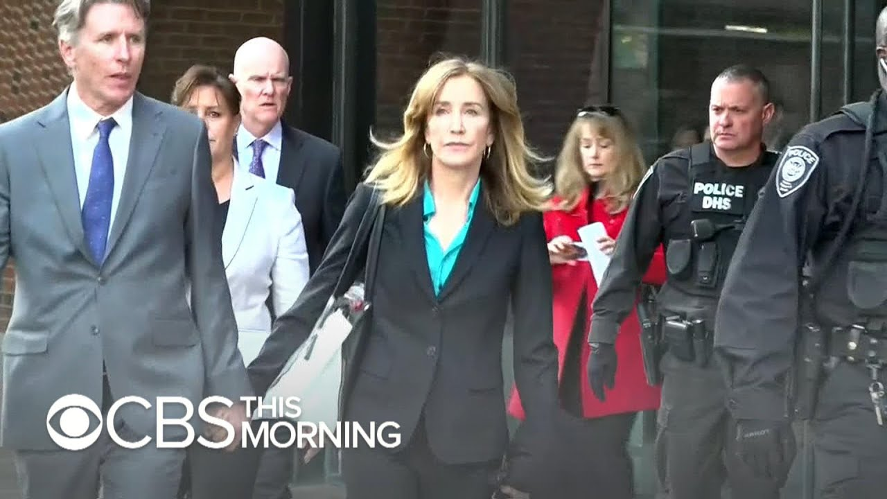 Felicity Huffman likely to face some prison time in college admissions scandal