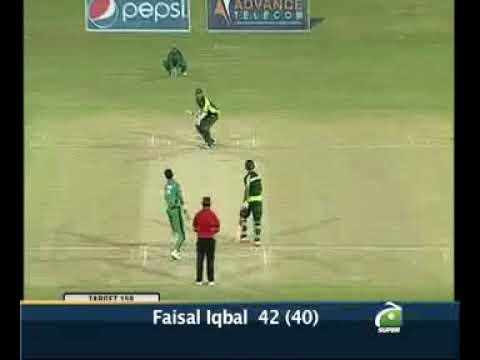 Faisal Iqbal Batting in T/20 Final PIA vs HBL