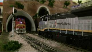 HO Scale Amtrak HD