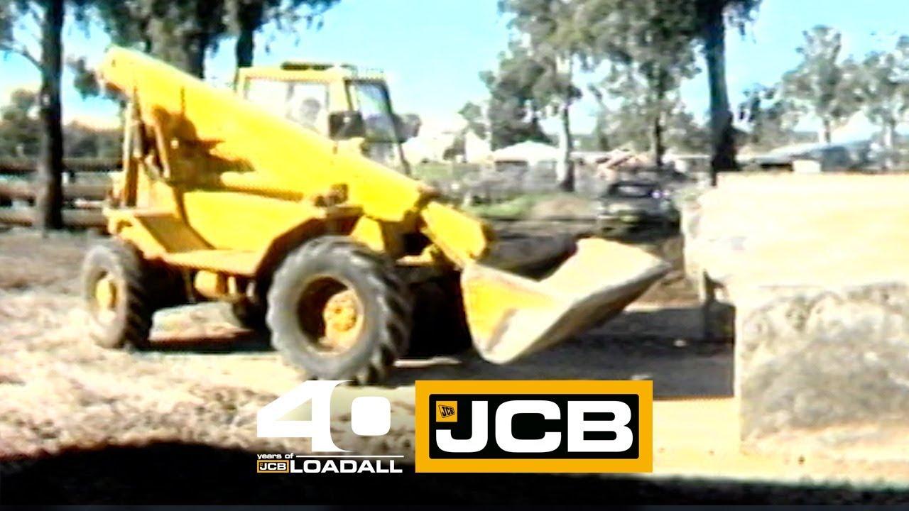 JCB 525B-4 HL in Australia - Celebrating 40 Years of Loadall