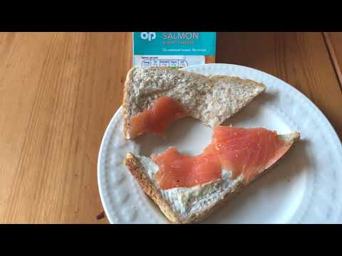 Co-Op Smoked Salmon and Soft Cheese Sandwich Review