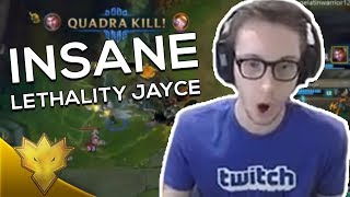 TSM Bjergsen - INSANE LETHALITY JAYCE DAMAGE - League of Legends Stream Highlights