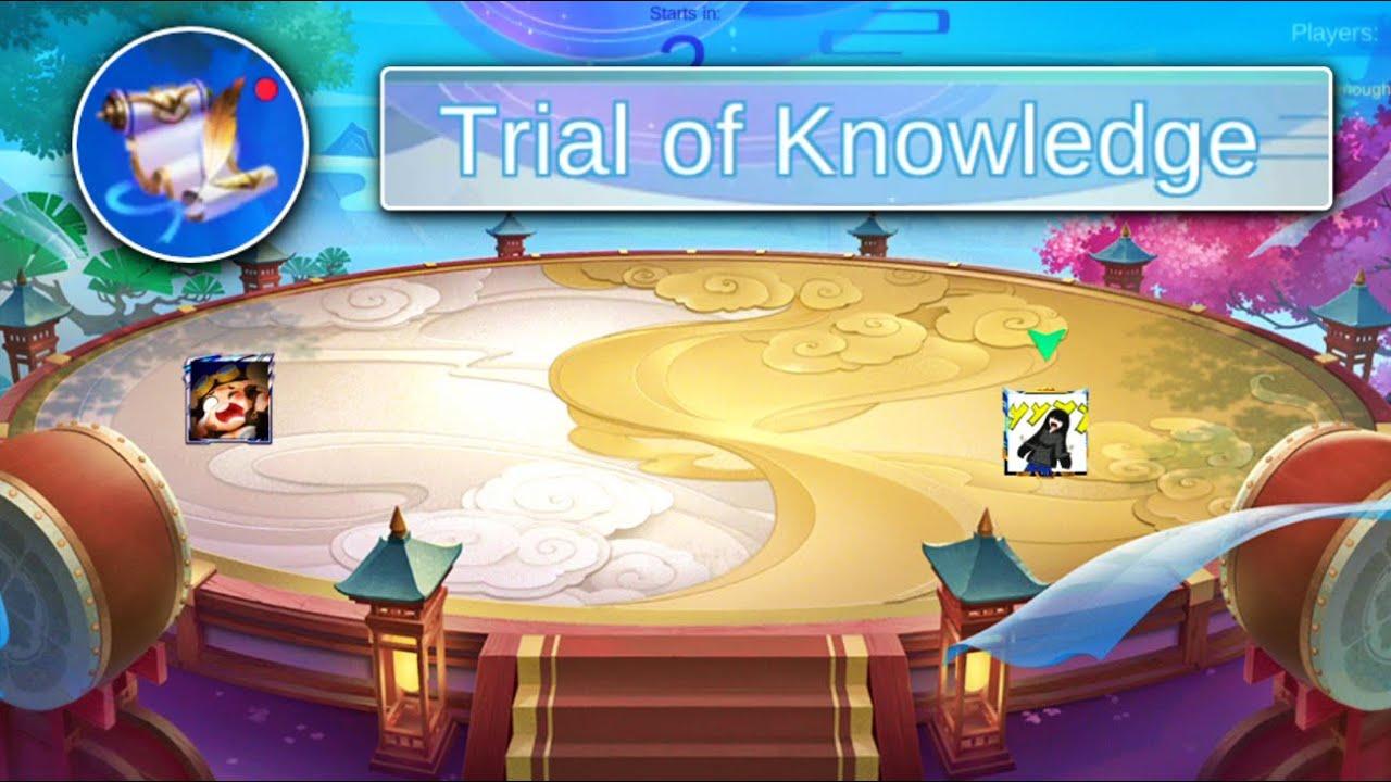 TRIAL OF KNOWLEDGE | MOBILE LEGENDS QUIZ QUIZ