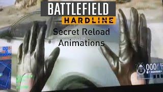 Battlefield:Hardline-Secret Reload Animations
