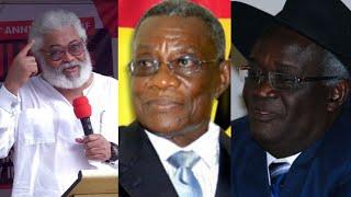 Professor Reveαls Atta Mills Resigned as President before he Diεd Because of Rawlings' Insυlts