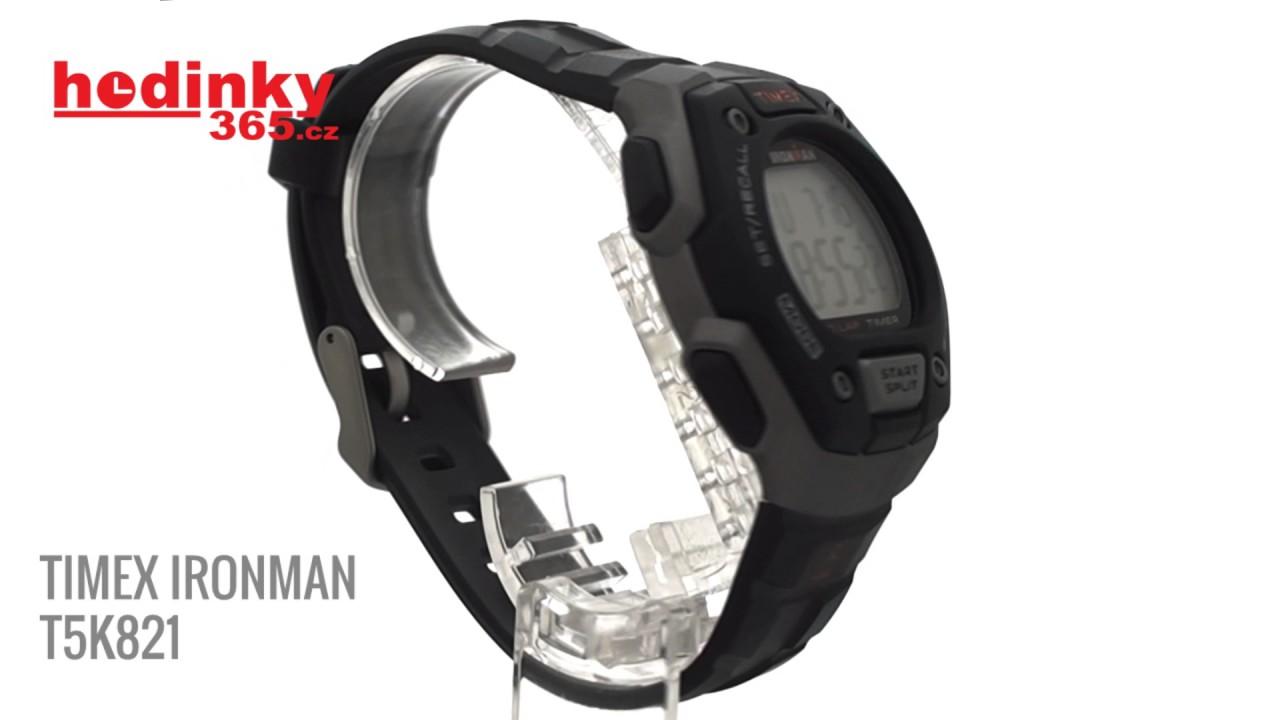 9917c5b9a Timex Ironman T5K821 - YouTube