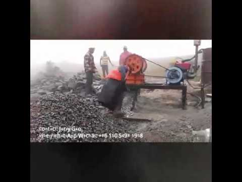 Diesel engine stone crushers for small businesses