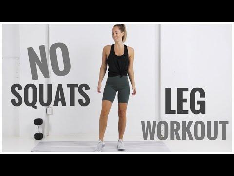 NO SQUATS Leg Workout!