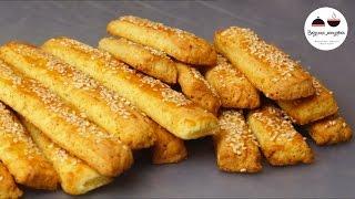 Творожные палочки с кунжутом - и десерт, и закуска! Cheese Sticks With Sesame Seeds