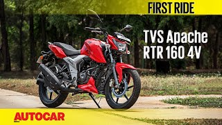 TVS Apache RTR 160 4V | First Ride | Autocar In...