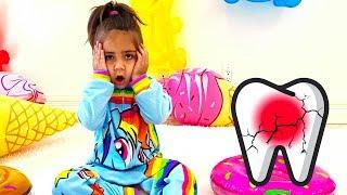 Nastya, Artem und Mia - Eine Geschichte für Kinder über die Wichtigkeit des Zähneputzens