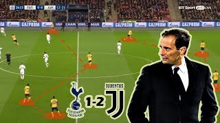 Tottenham vs Juventus 1-2 | Tactical Analysis | UCL 2nd Leg