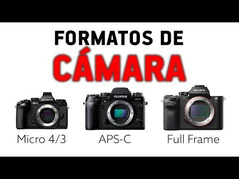 FORMATOS DE CÁMARA - Full Frame, APS-C o Micro 4/3
