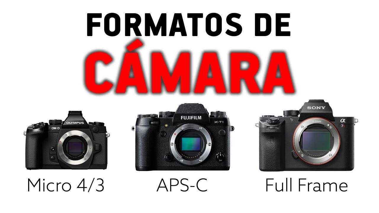 FORMATOS DE CÁMARA - Full Frame, APS-C o Micro 4/3 - YouTube