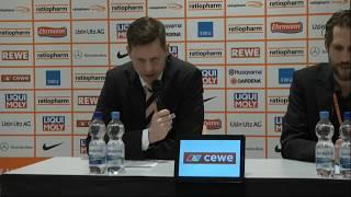 OZ.TV Pressekonferenz: Ulm - Giessen