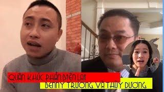 Bài nói chuyện cực hay của Quân Khúc khiến Benny Trương và Thùy Dương như 2 con gà