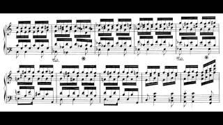 Schumann - Toccata op. 7 (Audio+Sheet) [Cziffra]