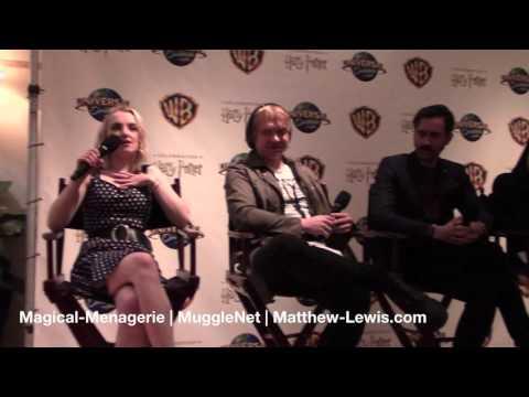 Celebration of Harry Potter Press Exclusive Cast Q&A - January 29 2016
