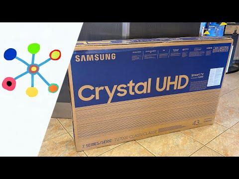 "SAMSUNG 43"" Class TU7000 Crystal UHD 4K Smart TV"