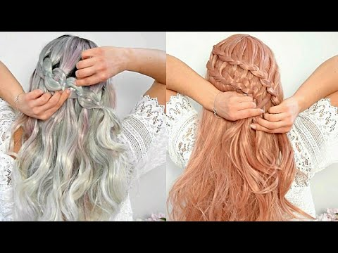 Penteados Tranças Fáceis Para Fazer Sozinha Cabelo Liso E Cacheado Melhores Penteados Feminino 2018
