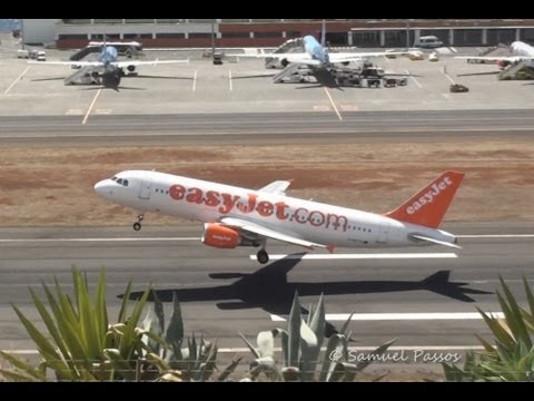 15 seconds rolling A320 Easyjet short take off