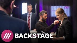 Дебаты Навального и Лебедева  Backstage