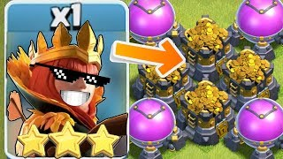 "TROLL REKT w/ 3 STAR!! ""Clash Of Clans"" i Gets MoNie!"