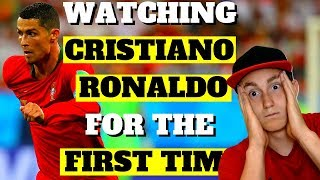 AMERICAN REACTS TO CRISTIANO RONALDO FOR THE FIRST TIME (the man who can do anything?)