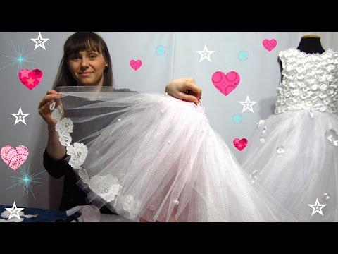 Как украсить детское платье