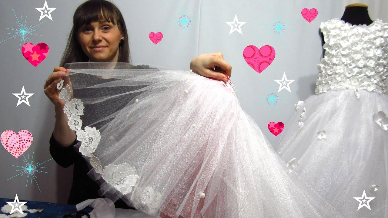 Мастер класс пышное платье своими руками фото 775
