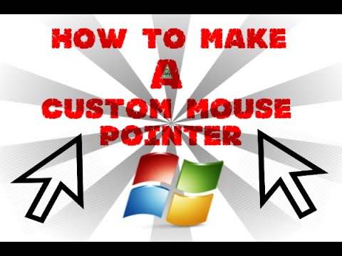 how to download custom mouse pointers