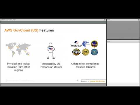 Addressing ITAR Requirements in the AWS GovCloud (US) Region Webinar