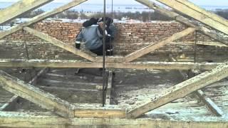 видео Быстрый демонтаж крыши
