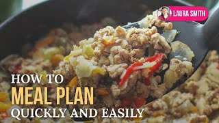 How to Meal Plan Quickly and Easily Thumbnail