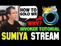 SUMIYA Invoker Tutorial Item Choice + How to Solo WR | Sumiya Facecam Stream Moment #297