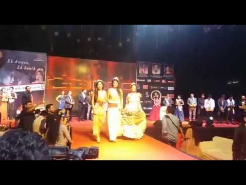 crowning ceremony of IAWA MISS INDIA 2017