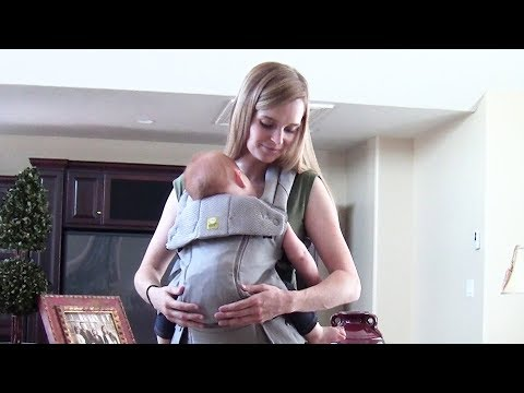 LILLEbaby Carrier- The Complete All Seasons - Review And Front Carry Tutorial