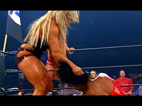 (720pHD): WCW Thunder 12/16/99 - Midnight & Jim Duggan Vs. Asya & Perry Saturn