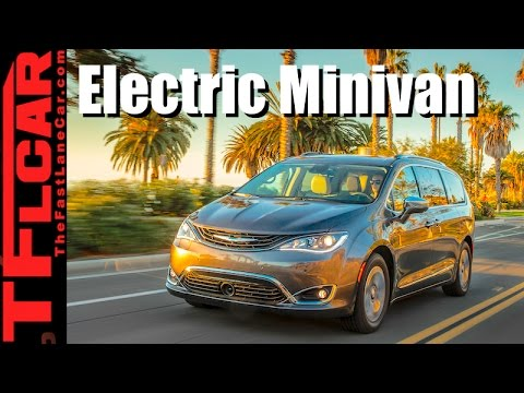 2017 Chrysler Pacifica Hybrid Review: First Plug-In Hybrid Minivan