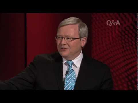 Kevin Rudd & Malcolm Turnbull on Q&A