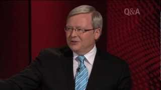 Kevin Rudd & Malcolm Turnbull on Q&A