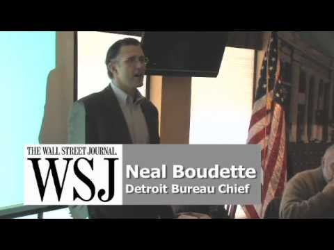 Kiwanis Club of Ann Arbor Morning Edition-WSJ Reporter discusses Detroit & more!