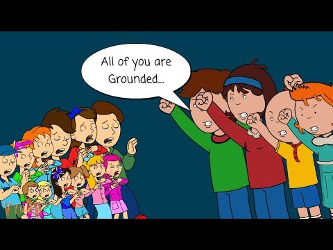 Accurate Caillou's Family Ground The (Inaccurate Caillou's) Anderson Family / Arrested