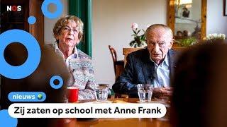 Oud-klasgenoten van Anne Frank herdenken haar 90ste verjaardag met kinderen