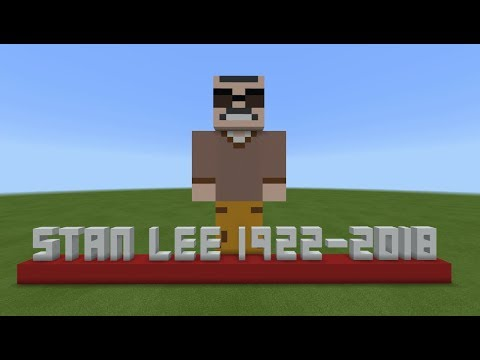Minecraft Tutorial: How To Make A Stan Lee Statue