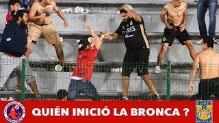 Veracruz vs Tigres quién inició la bronca